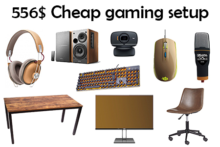 Cheap Gaming Setup