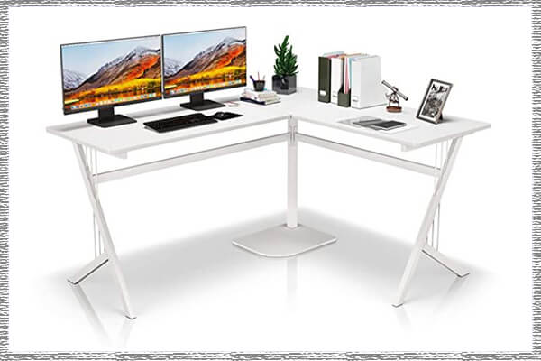 white gaming desks