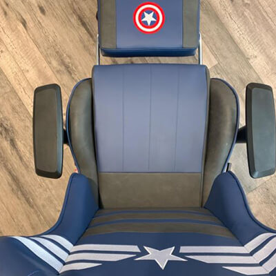 captain america chair