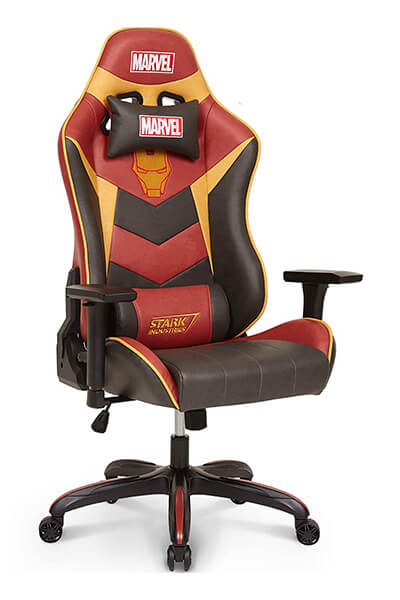 Marvel gaming chairs iron man