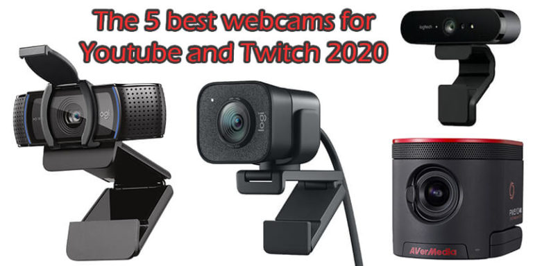 The 5 best webcams for Youtube and Twitch 2020