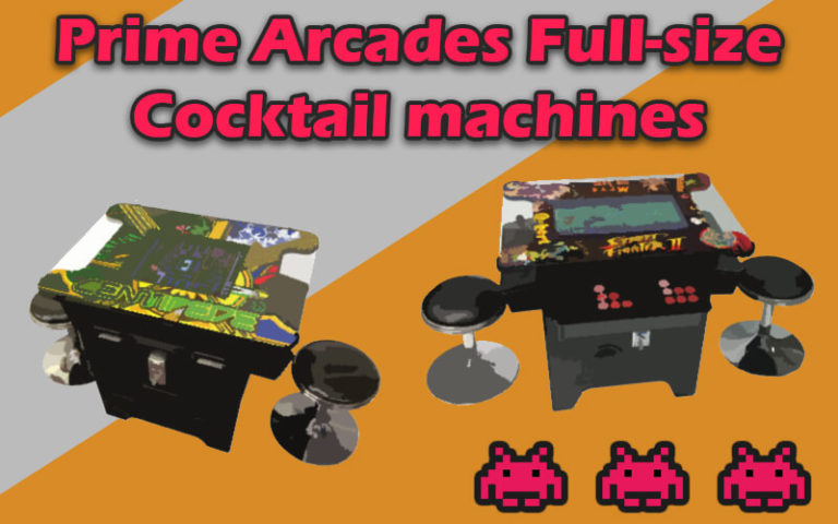 Prime Arcades Full-size Cocktail machines