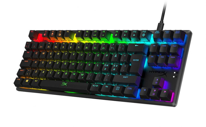 best tkl keyboard 2020 HyperX Alloy Origins Core TKL